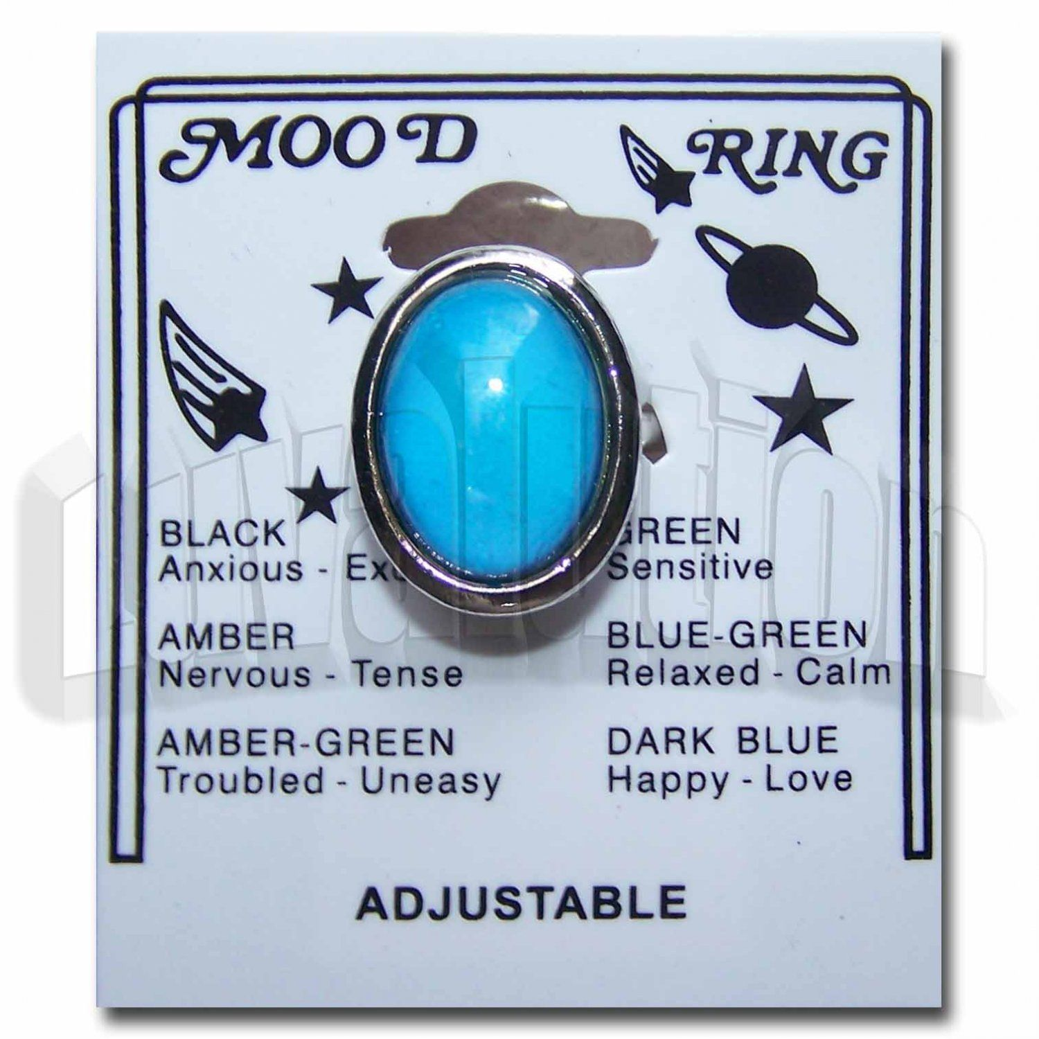 Retro 70s hippie chic chunky oval mood ring vivid color changes retro 70s hippie chic chunky oval mood ring vivid color changes reveal your innermost mood nvjuhfo Image collections