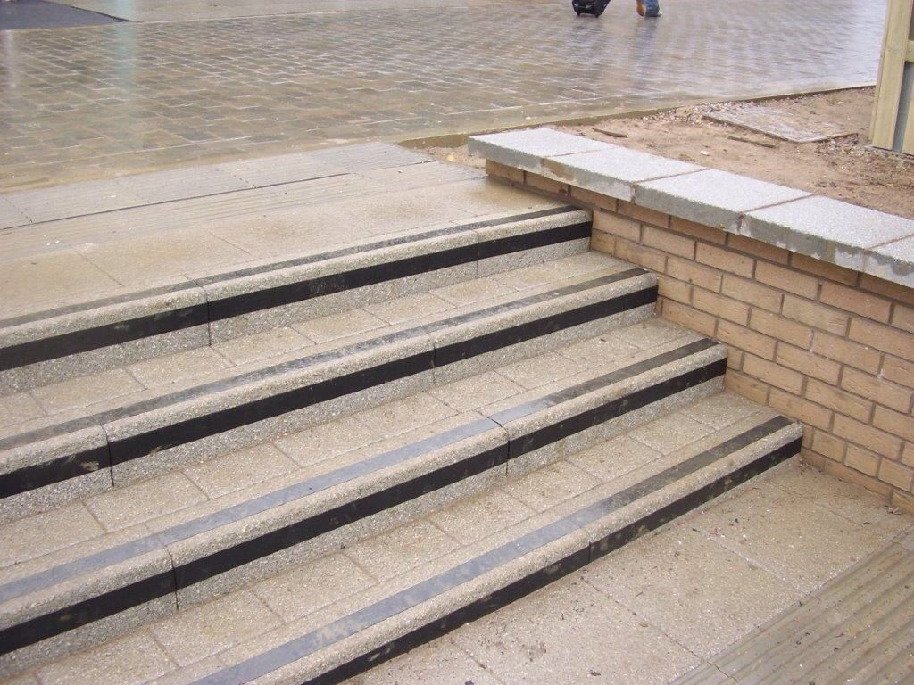 Conservation Kerb Steps Stair Steps Concrete Design