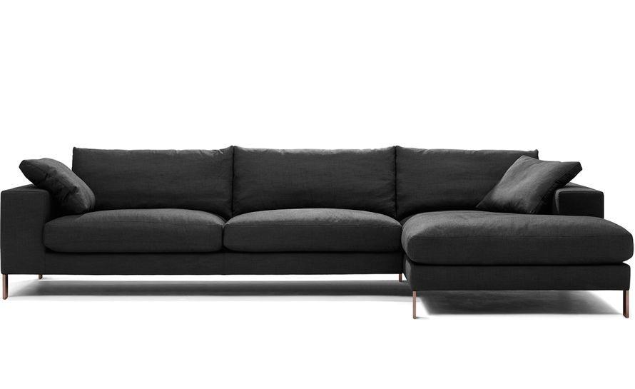 Enjoyable Plaza 3 Seat Sectional Sofa Hivemodern Com Really Really Creativecarmelina Interior Chair Design Creativecarmelinacom