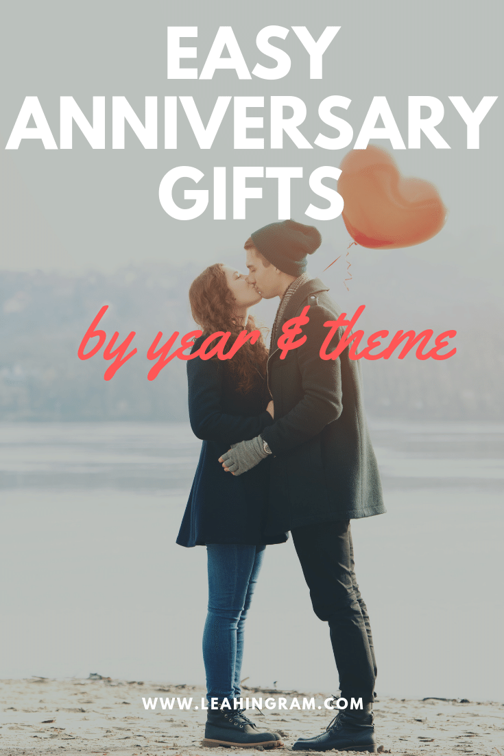 Easy Anniversary Gifts By Year and Theme Year