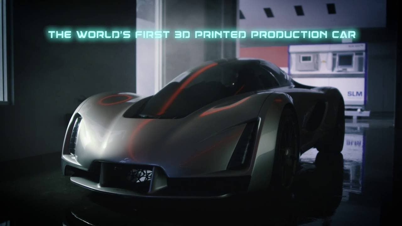 The Blade   The Worldu0027s First 3D Printed Production Car