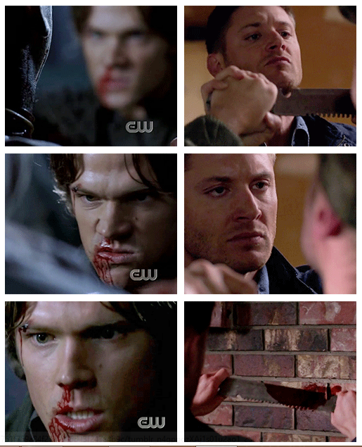 Sam and Dean against vamps