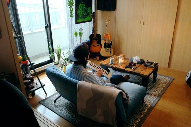 70 Sジャンク カレー 楽器 趣味にとことん囲まれる 学芸大学