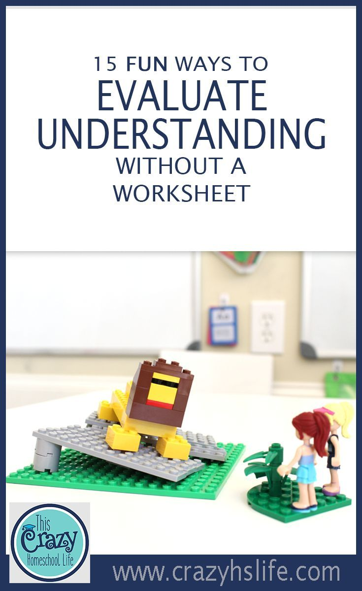 15 Fun Ways to Evaluate Understanding Without a Worksheet ...
