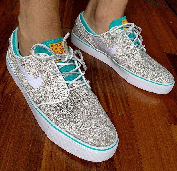 Nike SB Zoom Stefan Janoski Grey Suede Sneaker Bar Detroit