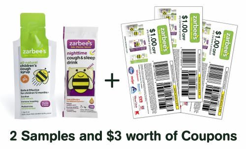 Free Zarbees samples and coupons