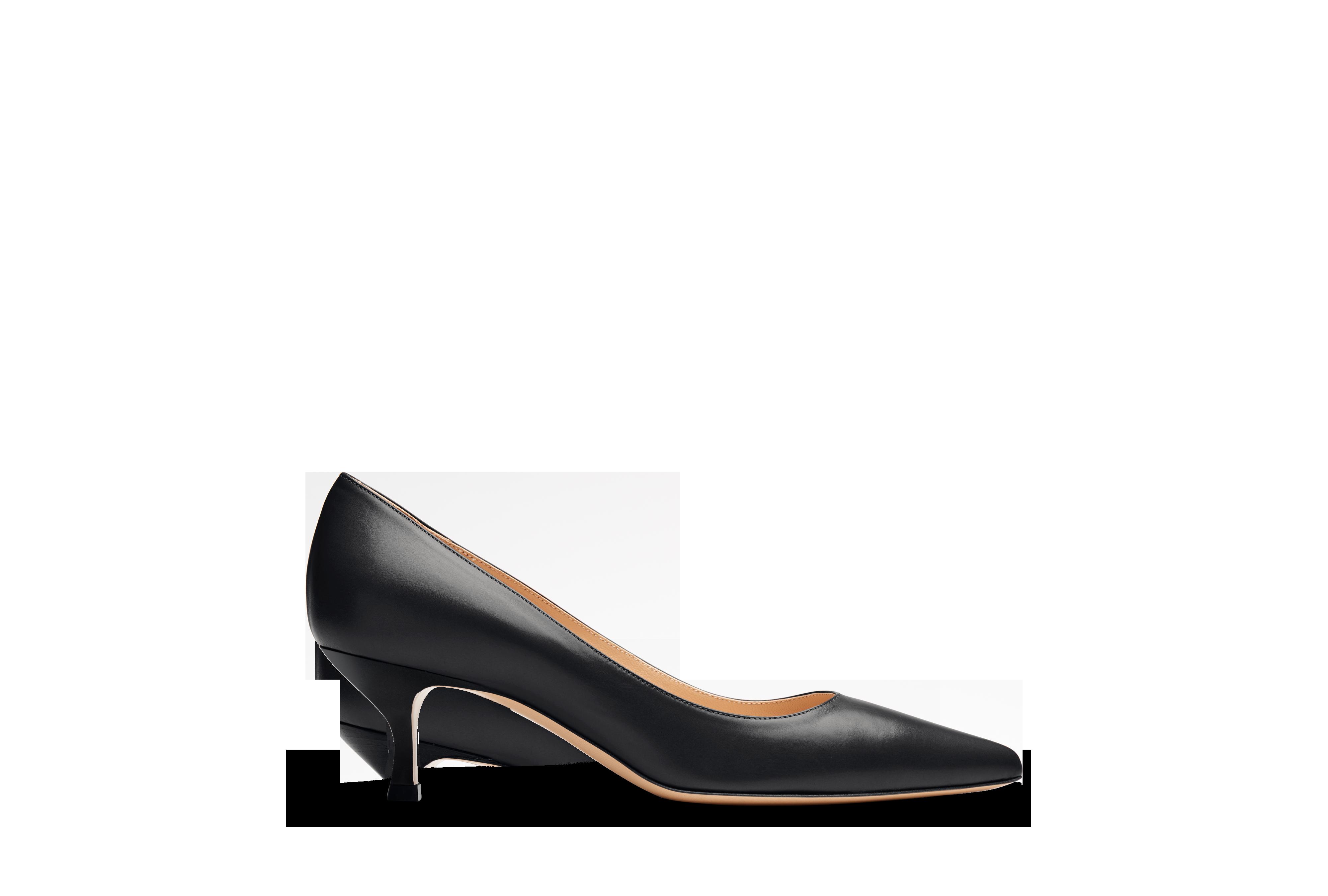 ed5c68b6912 The Gattino   Want   Heels, Leather high heels, Kitten heel pumps