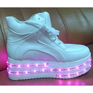 Luminous shoes lovers' sports shoes are the most special gifts for Valentine's day Christmas Halloween and other festivals.