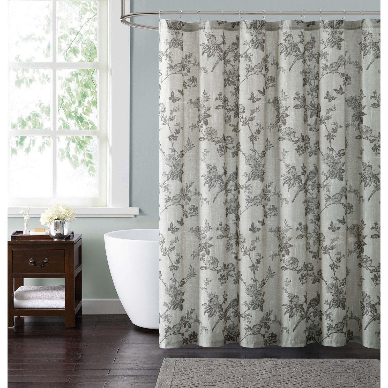 Lisborn Brown Shower Curtain