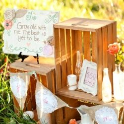 Is a DIY Wedding right for you? 5 Things You Should Consider. (Photo by Katelyn James) --- so really cute ideas. :)