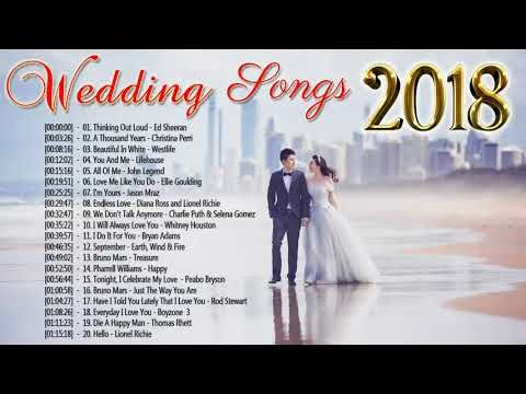 Top 100 Beautiful Wedding Songs 2018 Wedding Songs For Walking