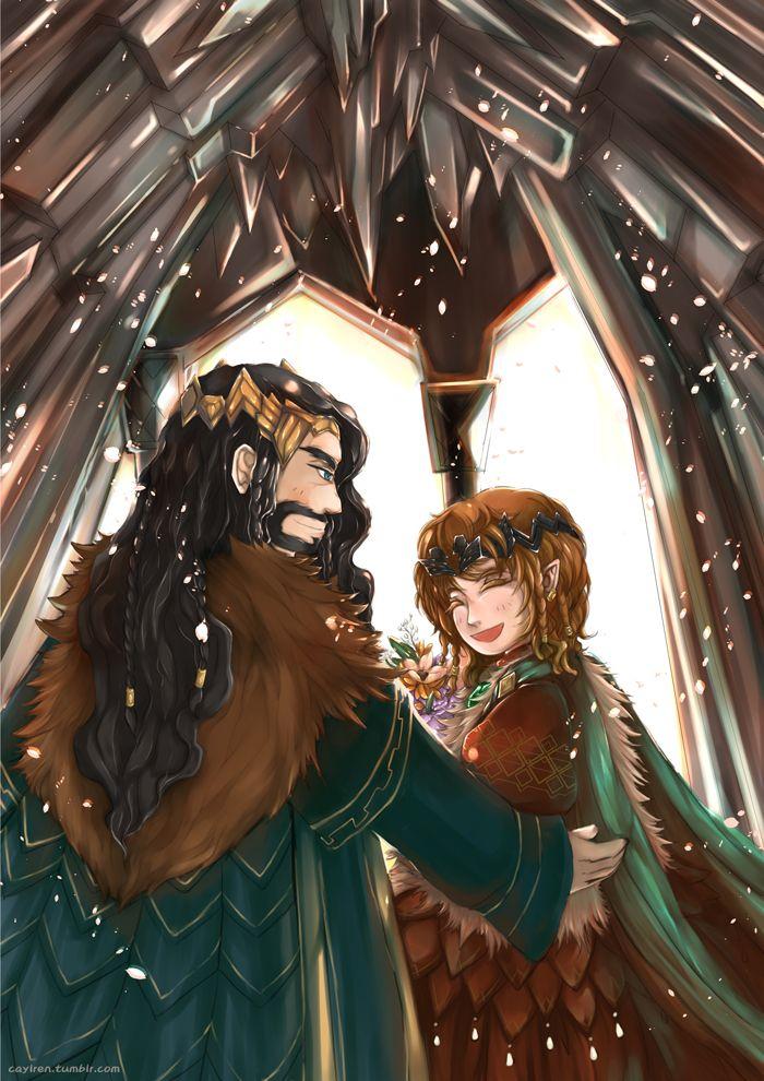 Bagginshield (Fem!Bilbo) :: A Royal Wedding by ~caylren on