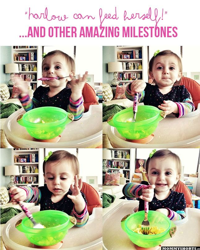 The milestones for a 1 year old don't get much better than this.