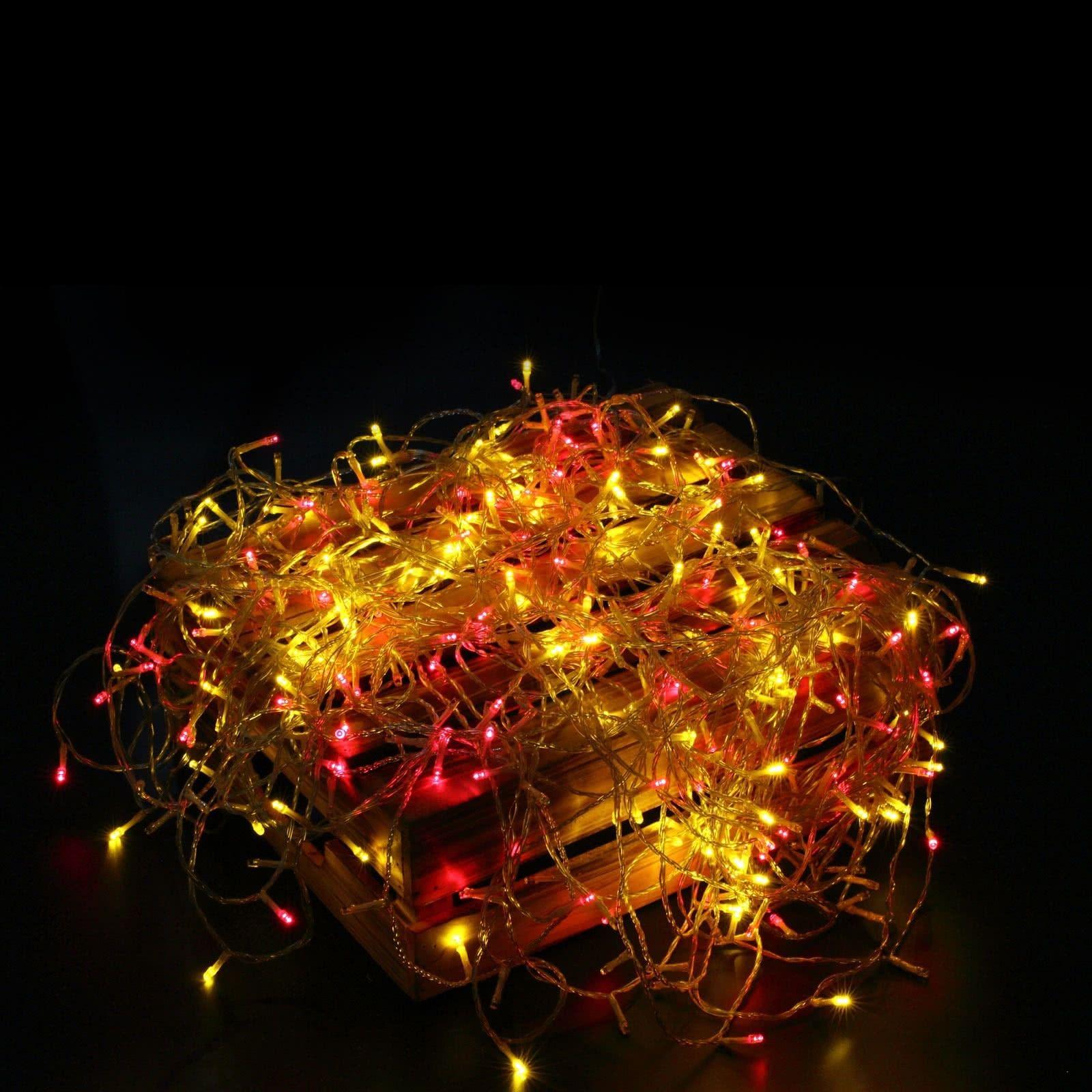 Weihnachtsbeleuchtung Bunt.400er Led Lichterkette Bunt Deko Für Hochzeit Party Weihnachten