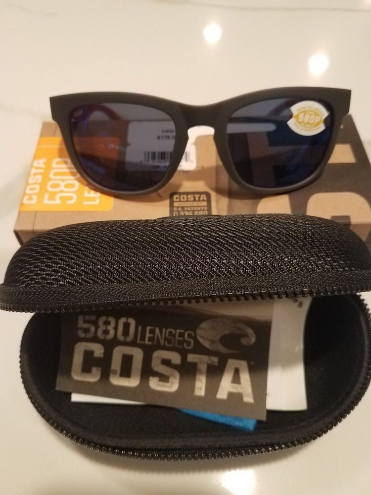 5cdff9a590 Costa Del Mar Copra Matte Gray Cream Salmon with Blue Mir 580G lens ...