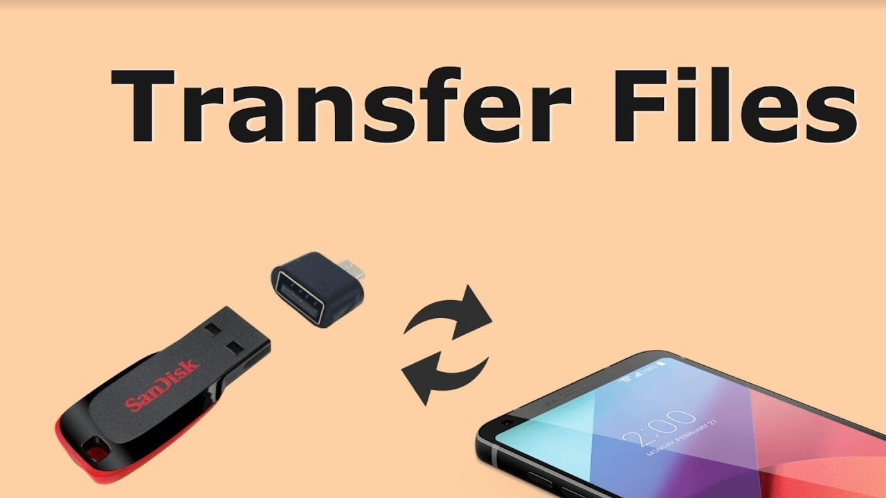 How to transfer photos from mobile to pendrive tech info