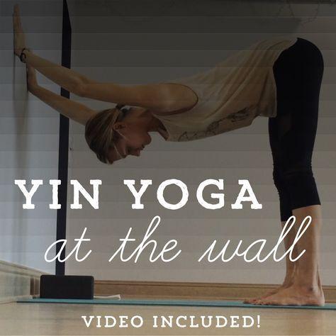 yin yoga at the wall  yoga santé yoga et exercice