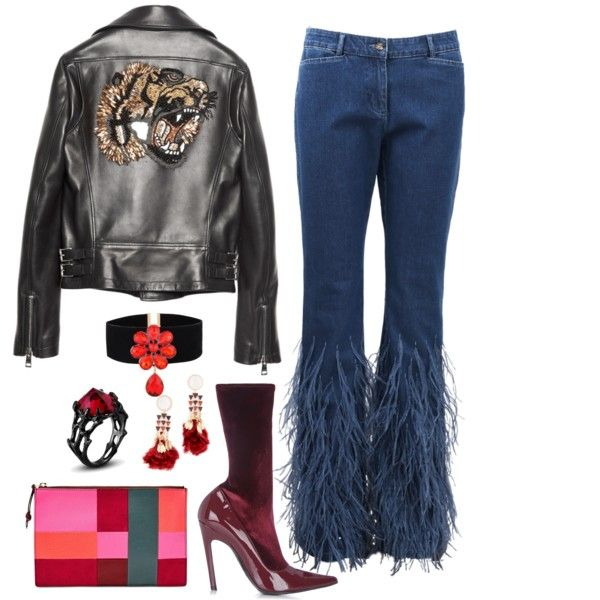 Pub by yescarrie on Polyvore featuring Gucci, Michael Kors, Balenciaga, FOSSIL and Tory Burch