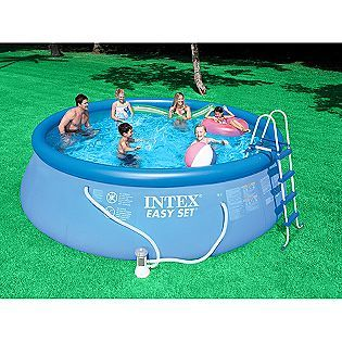 I Have Just Set Up An Easy Set Pool From Intex I Have No Clue Where To Start With Chem Children Swimming Pool Portable Swimming Pools Inflatable Swimming Pool