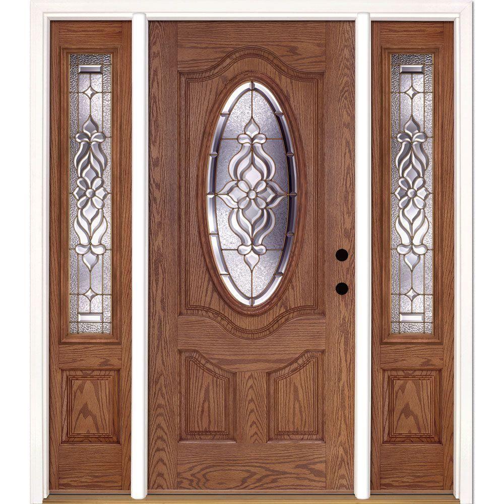 Inspirational Prefinished Fiberglass Entry Doors