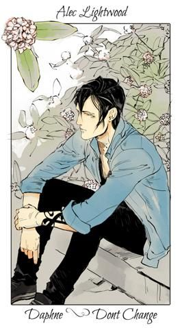 Shadowhunter Flowers  By  Cassandra Jean * Alec Lightwood: Daphne laureola - Honestidad/No cambies