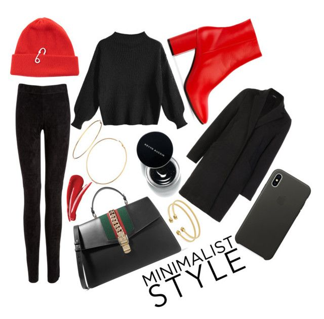 """blk"" by ishchukd on Polyvore featuring мода, Joseph, Balenciaga, TIBI, Boohoo, Gucci, GUESS и Apple"