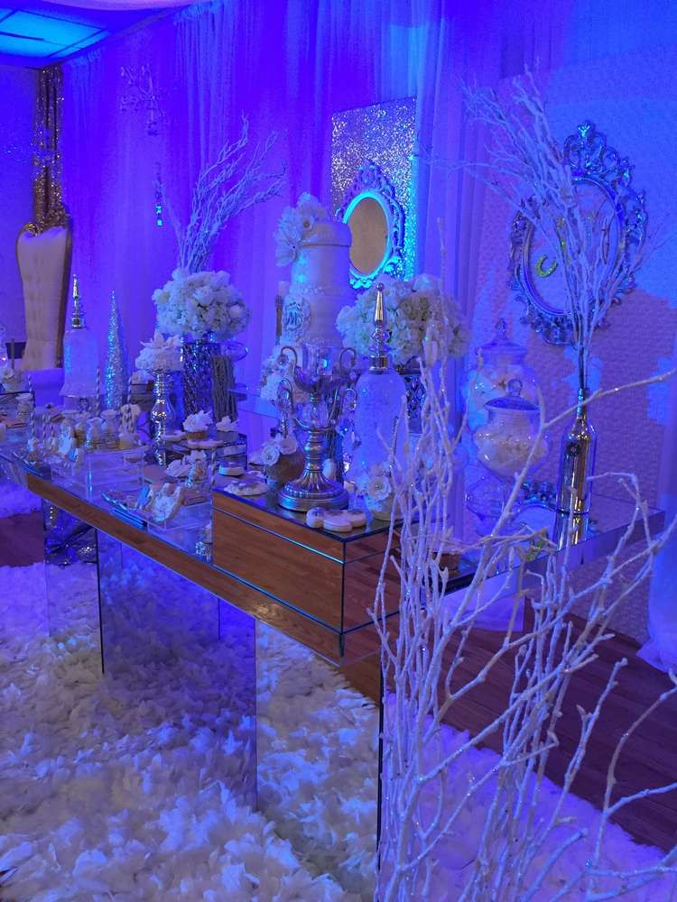 Winter Wonderland Baby Shower Party Ideas | Photo 7 Of 14 | Catch My Party