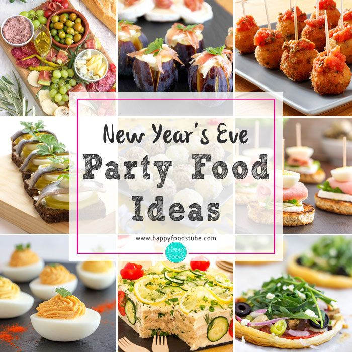 New Years Eve Party Food Ideas New year's food, Happy