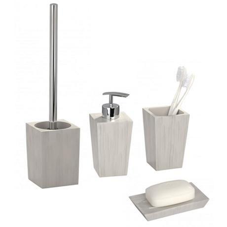 Wenko Milos Bathroom Accessories Set  Bathroom Accessories Sets Amazing Bathroom Accessory Set Inspiration