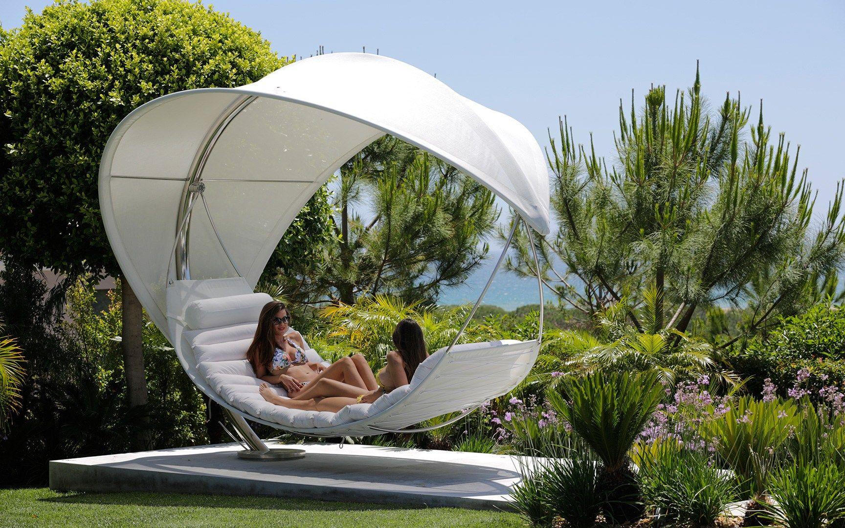 Batyline® hammock WAVE by ROYAL BOTANIA design Erik Nyberg