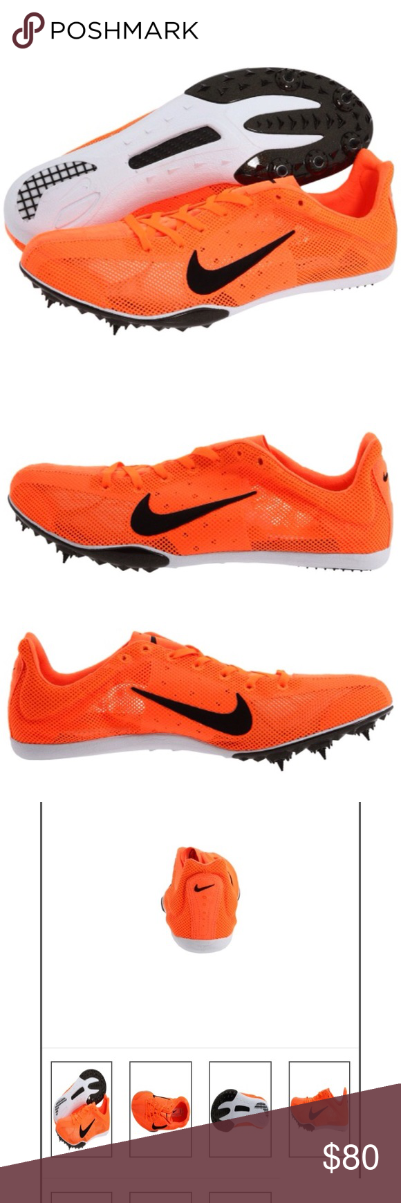 Shop - orange nike track spikes - OFF