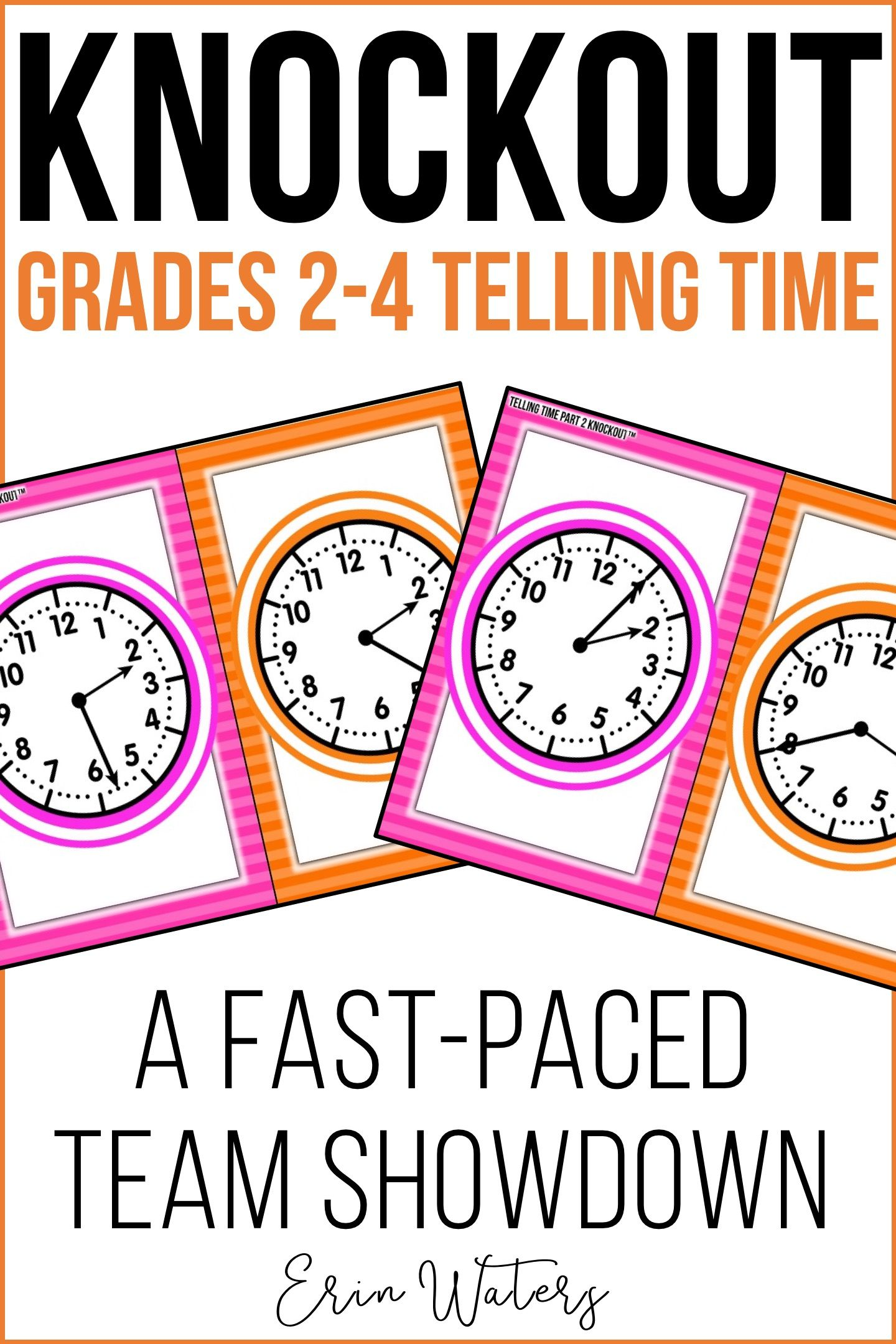 Telling Time Puzzles Second Grade Smiles On Tpt Math 2nd