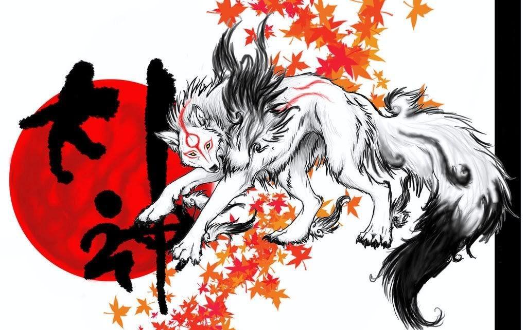 Japanese Wolf Art Japan Art Wolf Goddesses Anime Canin Images