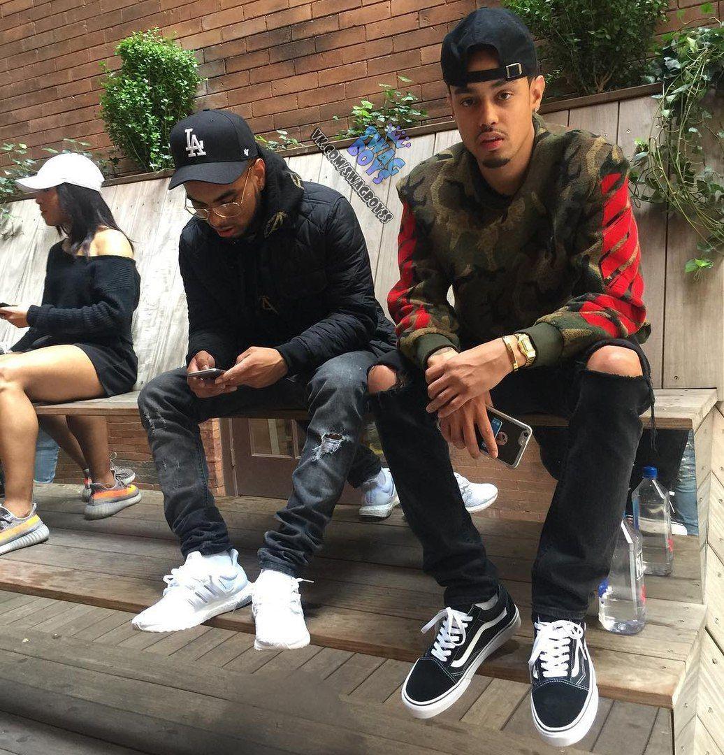 #SWAG BOYS | VK | Streetwear fashion, Black street fashion ...