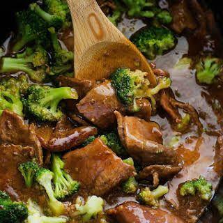Crock Pot Beef and Broccoli #beefandbroccoli