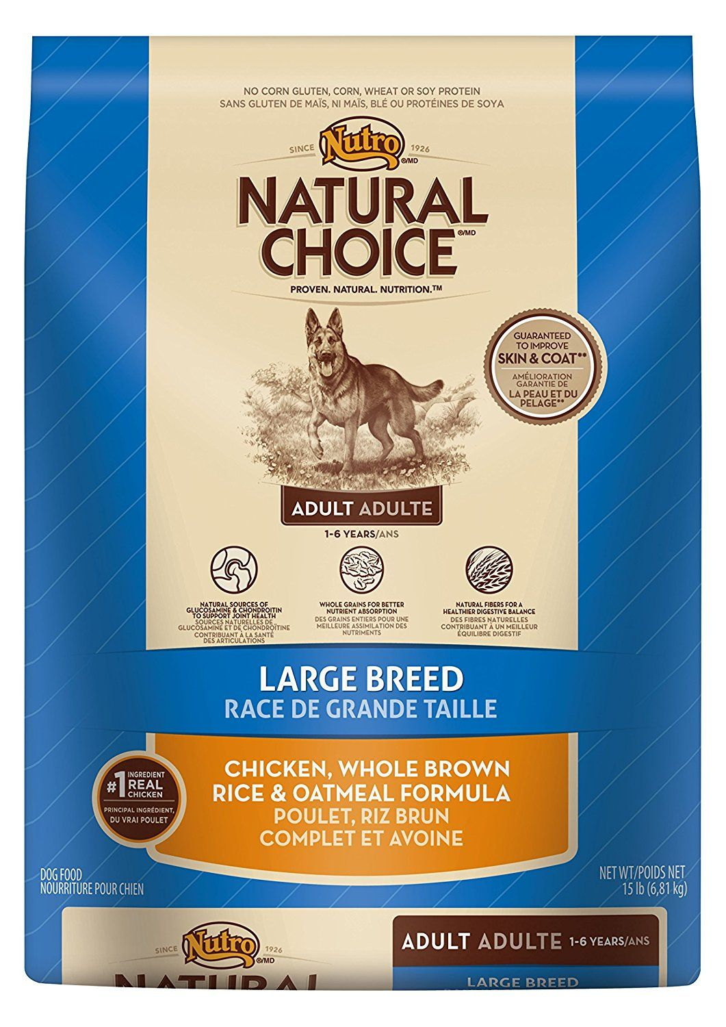 Natural Choice Adult Large Breed Chicken Whole Brown Rice And