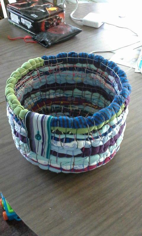 Hand Woven Bali Basket Pattern ~ No Sewing Machine Required
