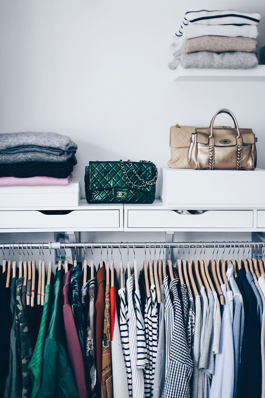 Kleiderschrank Ausmisten Tipps Tricks Open Wardrobe Dressing