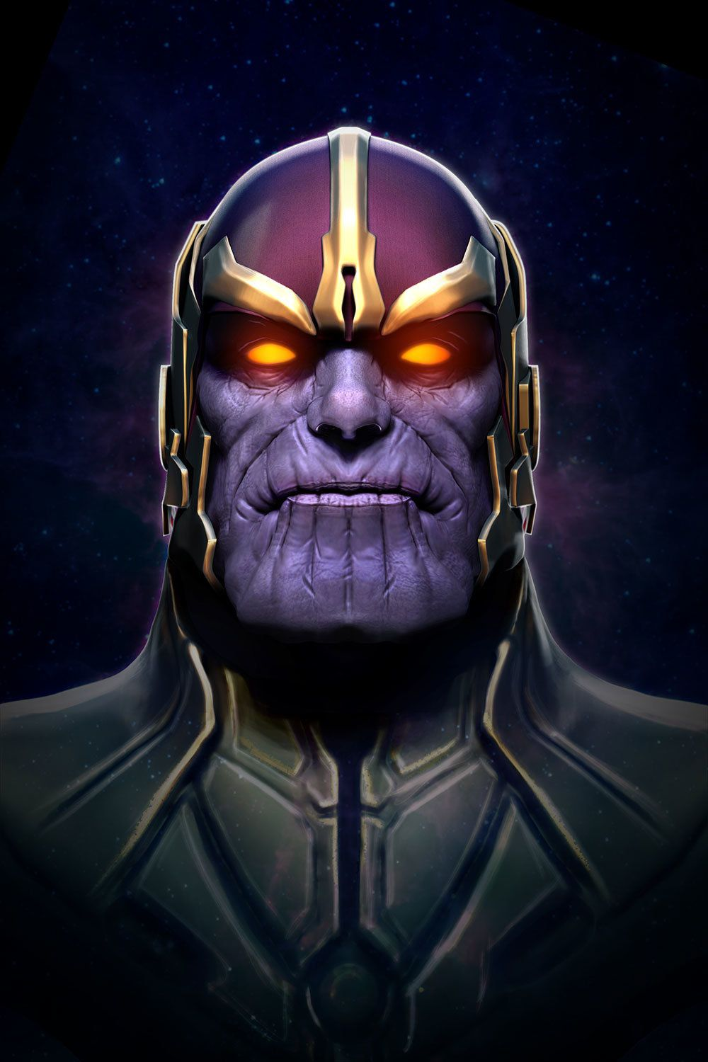 ThanosPhoneWallpaper Android Red Marvel villains