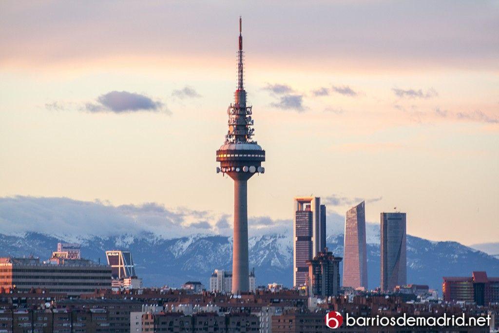 Pin En Madrid Skyline