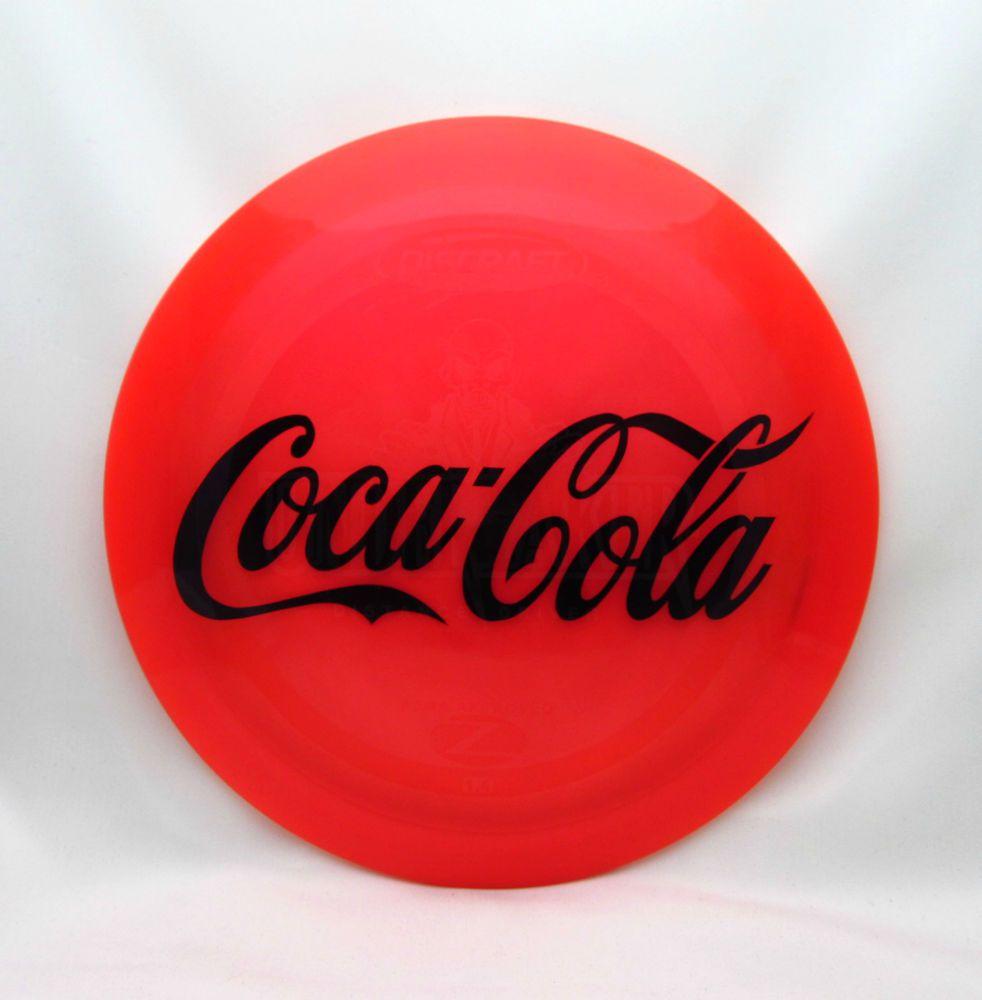 869af53f532 NEW Discraft Elite Z UNDERTAKER 170-172g Coca Cola custom dye disc golf  driver