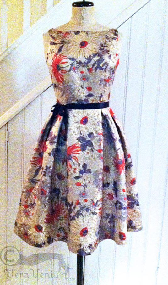 Photo Of Brocade Party Dress Fashion Dresses Pleated