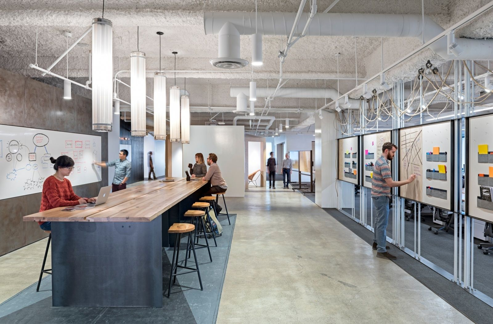 A tour of uber s new san francisco office startup