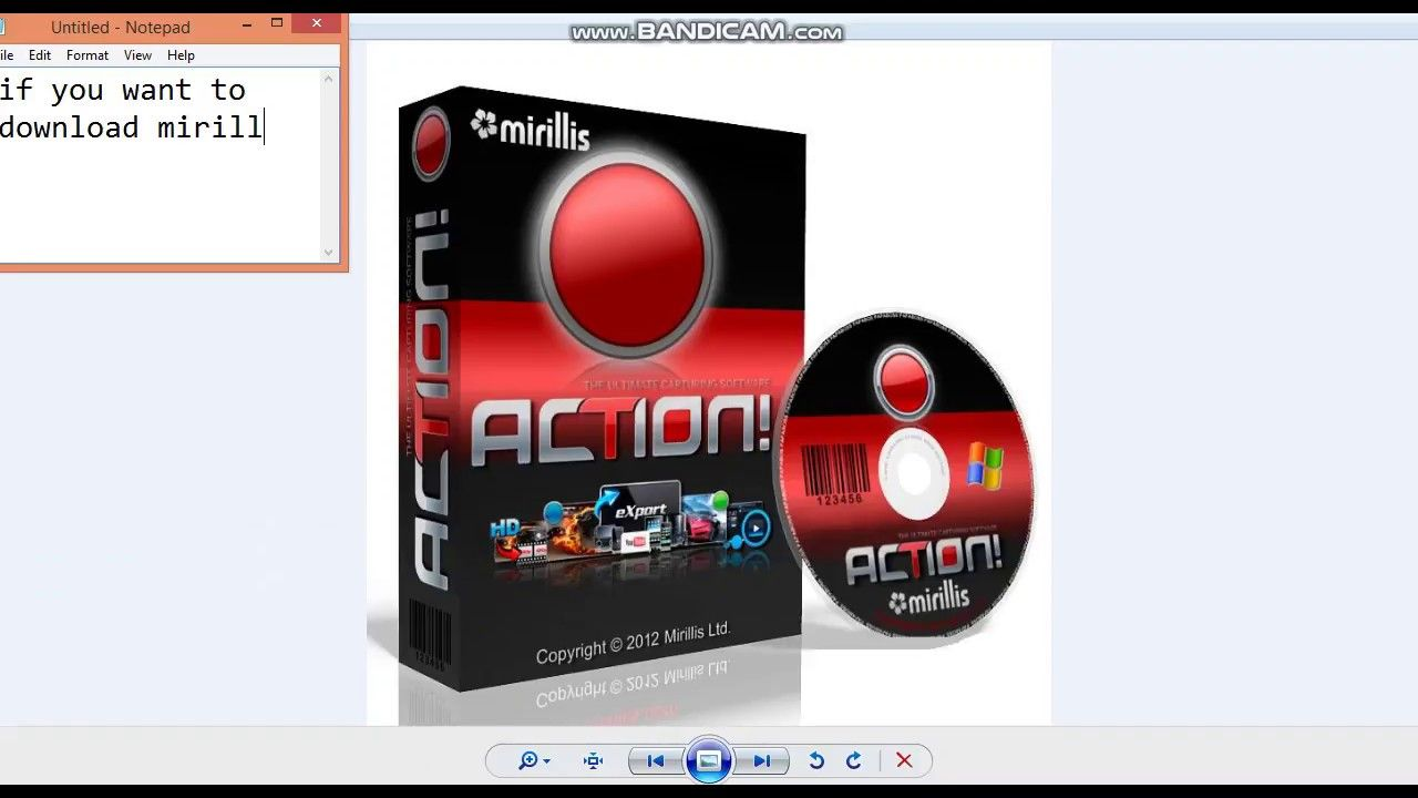 action mirillis activation key