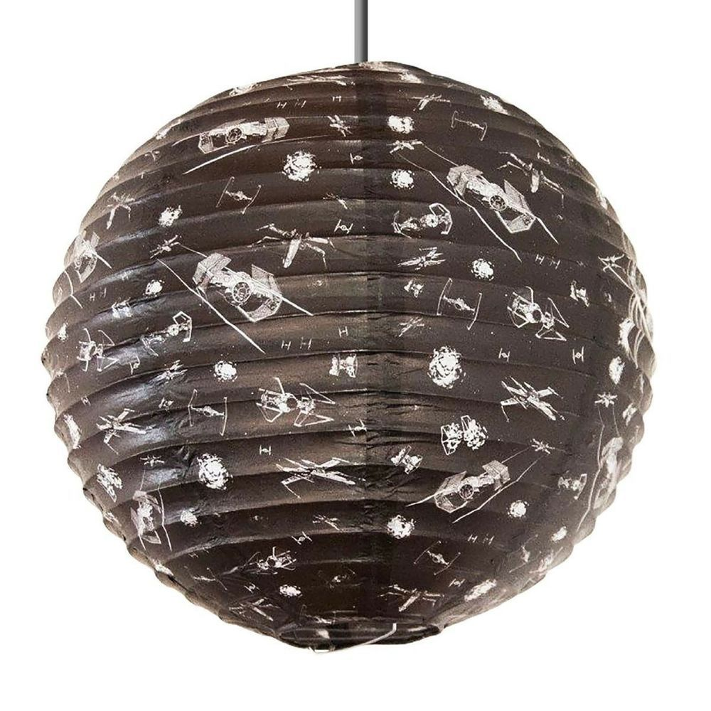 Star Wars X Wing Fighter Vs Tie Fighter Lightshade Spherical Paper Lampshade Paper Light Shades Bedroom Light Shades Paper Lampshade