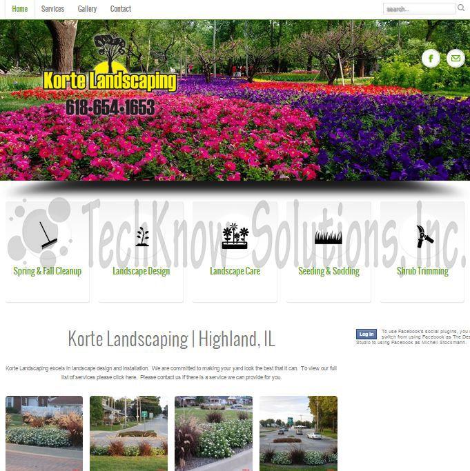 Korte Landscaping #techknowsolutions