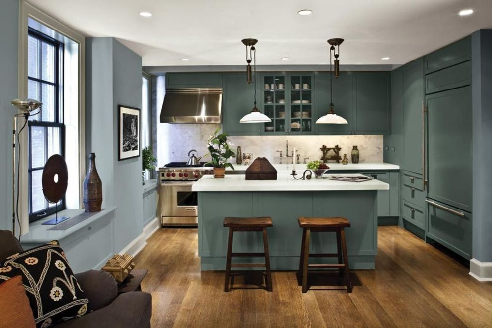 30 trending kitchen colors ideas for 2019 in 2020 beautiful kitchen cabinets kitchen cabinet on kitchen cabinet color ideas id=74722