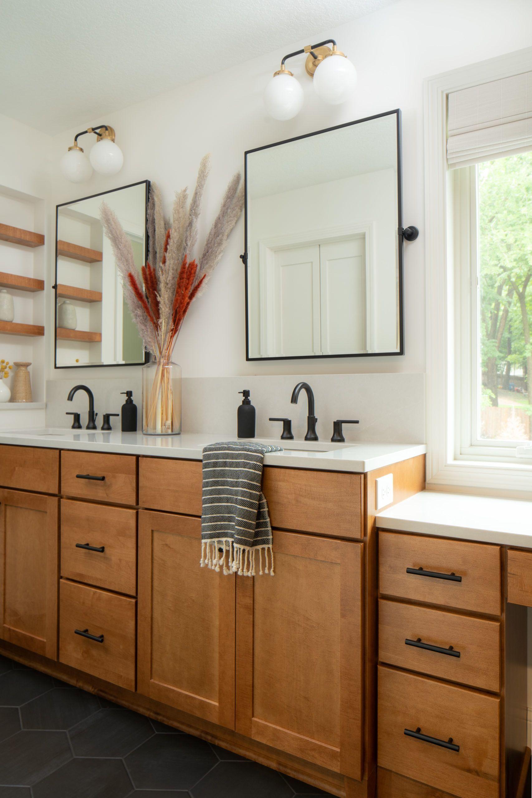 28+ Bathroom wood cabinet ideas inspiration
