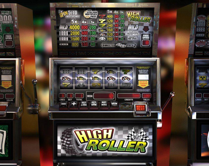 High Roller! Classic 5 reel slot! For more games register