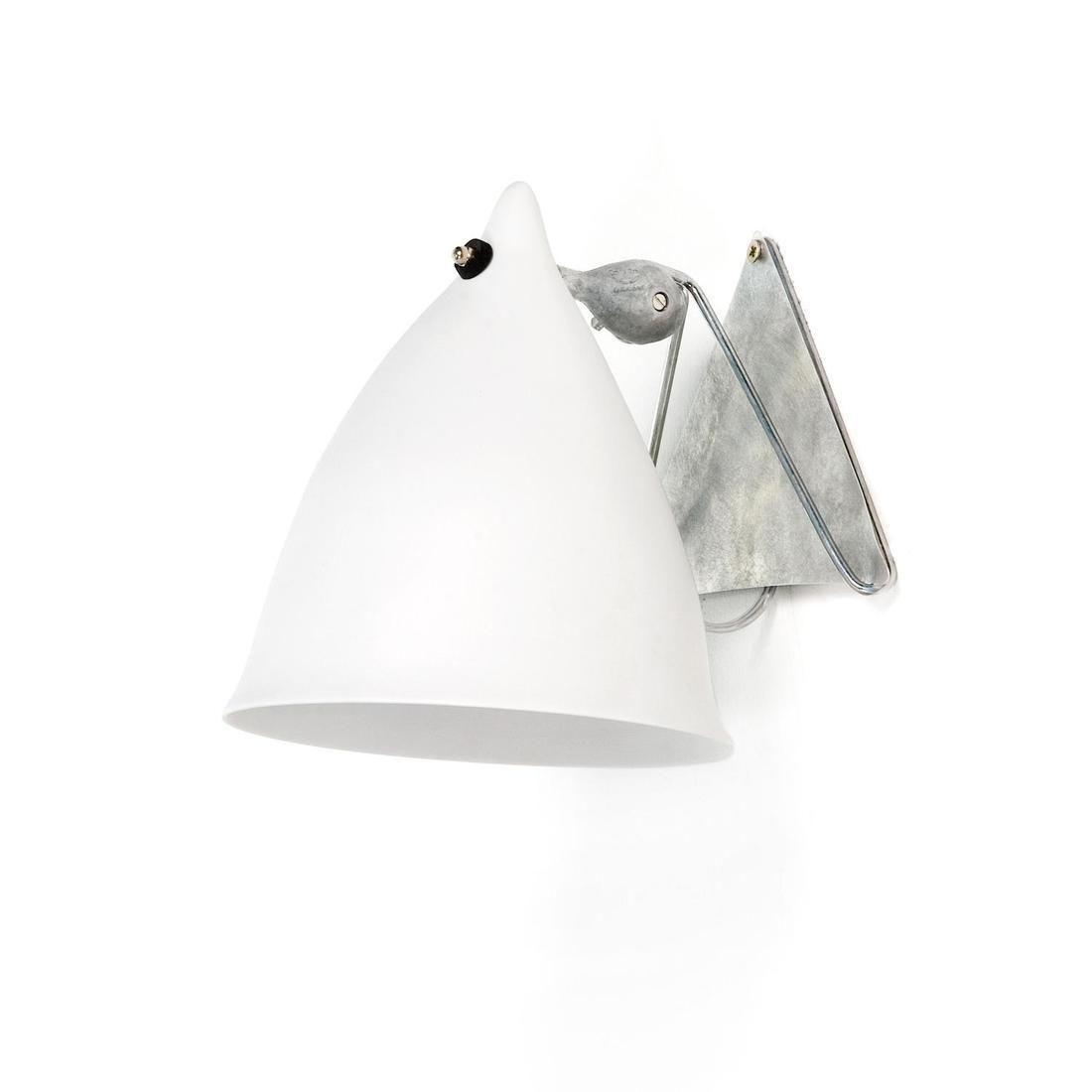 Applique porcelaine Blanc mat H18cm - CORNETTE Applique Tsé & Tsé ...